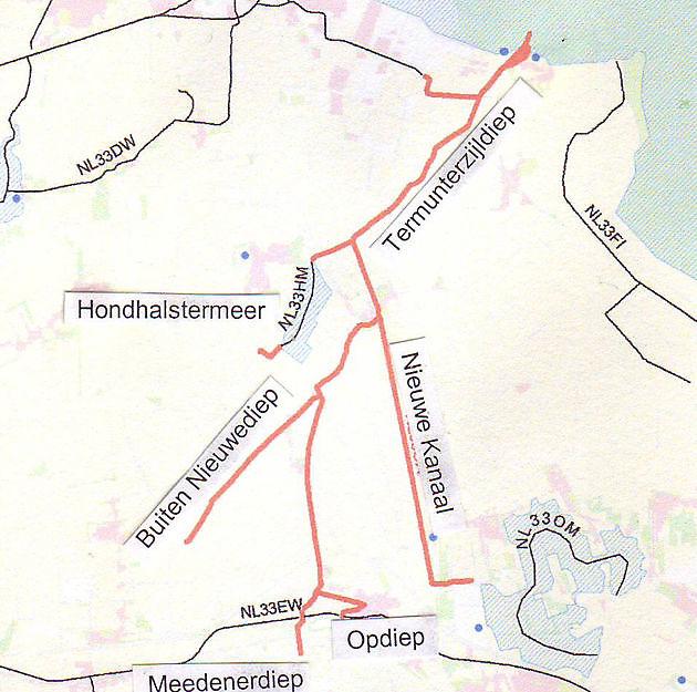 Boezemkanalen Oldambt - Museumgemaal Cremer Termuntenzijl