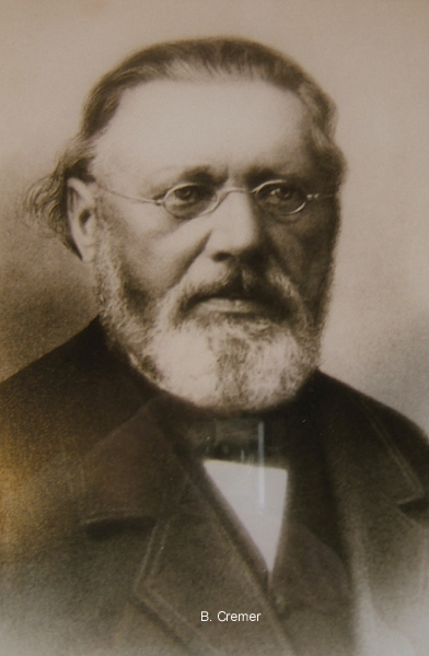 Waterbouwkundigen B. Cremer en P.G. (Pieter Geert) Cremer (1866-1939) - Museumgemaal Cremer Termuntenzijl
