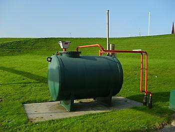 Dieseltank Museumgemaal Cremer Termuntenzijl
