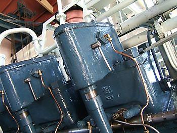 Klepstoters Brons dieselmotor Museumgemaal Cremer Termuntenzijl