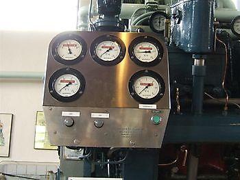 Instrumentenpaneel Brons Museumgemaal Cremer Termuntenzijl