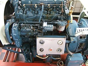 Perkins diesel noodaggregaat Museumgemaal Cremer Termuntenzijl