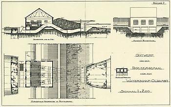 Cremer bouwtekening Museumgemaal Cremer Termuntenzijl