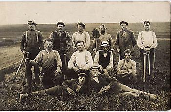 Dijkwerkers 1925 Museumgemaal Cremer Termuntenzijl