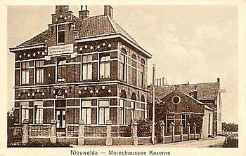 Kazerne Koninklijke Nederlandse Marechaussee te Nieuwolda Museumgemaal Cremer Termuntenzijl